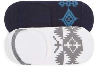 Pendleton Losojos/Spider Rock 2-Pack No-Show Socks