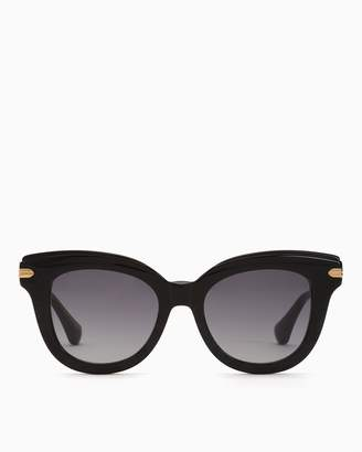 Sonix Eliot Cat Eye Sunglasses Black
