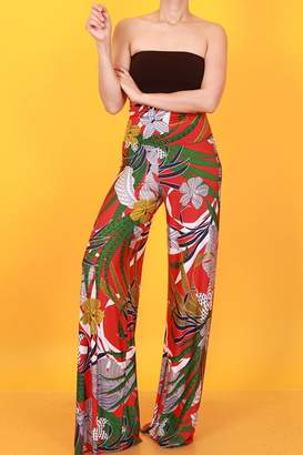 27cc7422d54 ... Wide Leg Flare Trousers. View Related Searches. at Shoptiques · SJ  Style Wild Flower Palazzo
