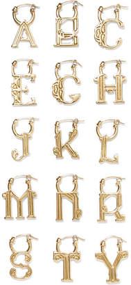 Ellery A-z Alphabet Gold-plated Earring