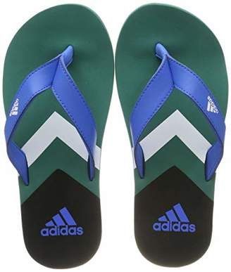3669d9324 adidas Men s Eezay Flip Flop Beach   Pool Shoes True Blue Footwear White  Active