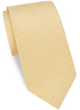 Salvatore Ferragamo Spread Gancini Silk Tie