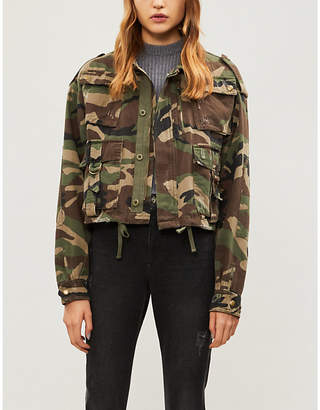 The Kooples Camouflage cotton jacket