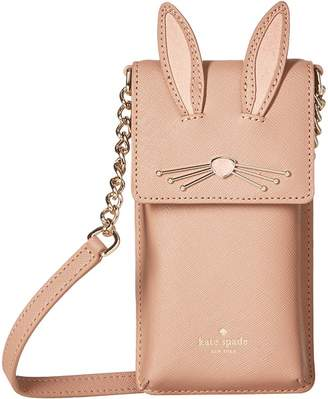 Kate Spade Rabbit North/South Phone Crossbody Cell Phone Case