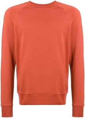 Paul Smith burnt orange raglan sweatshirt