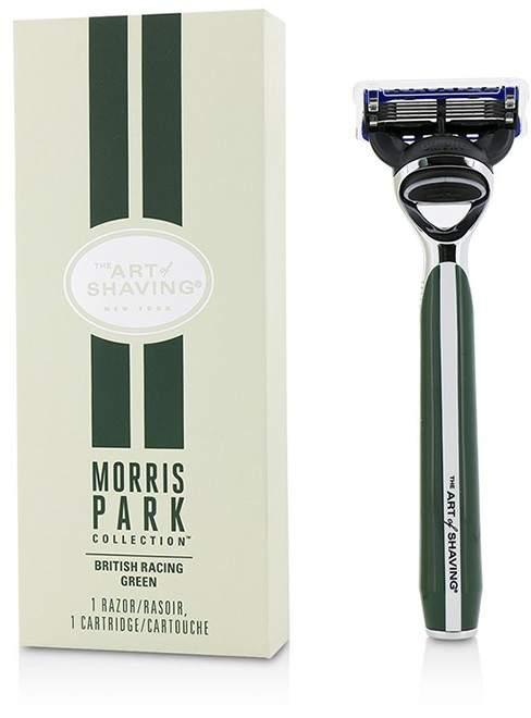 The Art Of Shaving Morris Park Collection Razor - British Racing Green