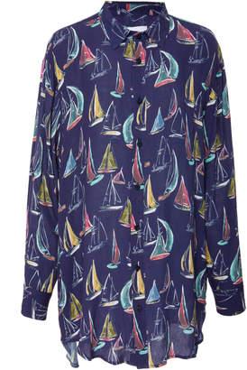 Onia Marie Printed Shirt Dress