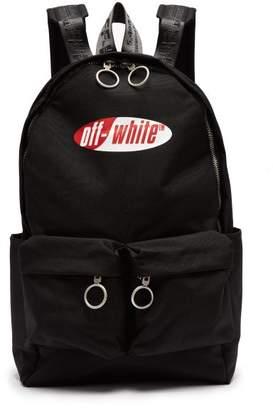 Off-White Off White Logo Technical Backpack - Mens - Black