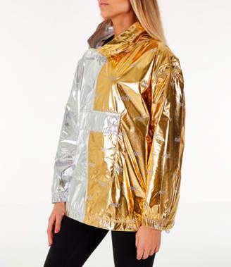 Nike Women's Sportswear Metallic Flash Wind Jacket