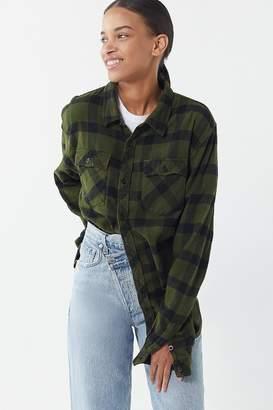 Urban Renewal Vintage Overdyed Button-Down Flannel Shirt