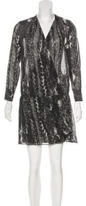 IRO Silk Patterned Dress