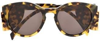 Moschino round frame sunglasses
