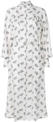 Zimmermann paisley stamp Whitewave polo dress