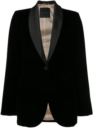 Ermanno Scervino velvet blazer