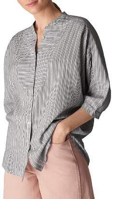 Whistles Beatrice Striped Shirt