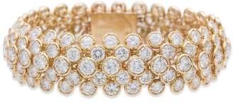 Van Cleef & Arpels Van Cleef and Arpels 18K Yellow Gold 40.ct Diamond Bracelet