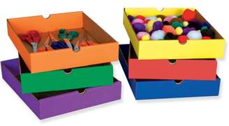 Classroom Keepers, PAC001313, 6-Shelf Drawers, 6 / Set, Assorted Drawer