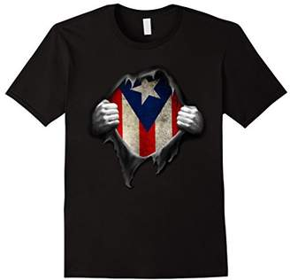 Puerto Rico Flag T Shirt. Proud Puerto Rican