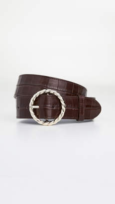 Loeffler Randall Leo Twisted Circle Belt Buckle