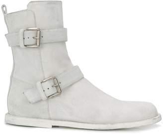 Ann Demeulemeester buckle ankle boots