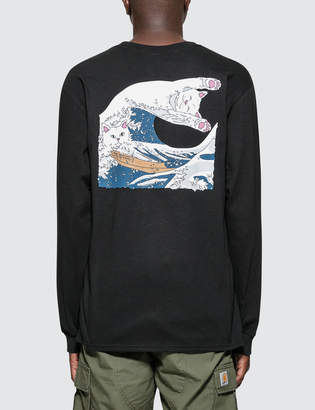 Ripndip Great Wave L/S T-Shirt