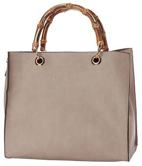 Un Billion UN Billion Square Tote Bag with Bamboo Handles- Millie