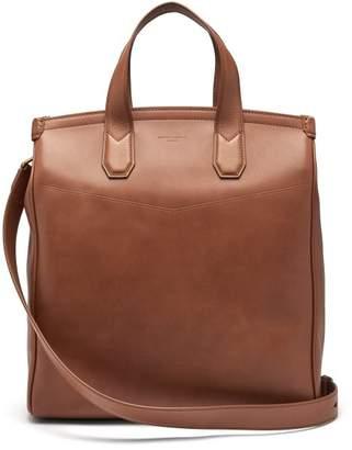 Dunhill Duke Leather Tote Bag - Mens - Tan