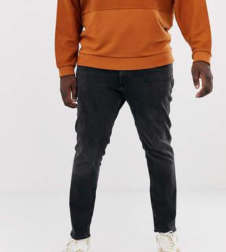 Intelligence skinny fit jeans dark grey wash
