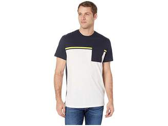 Calvin Klein Short Sleeve Color Blocked Pocket T-Shirt
