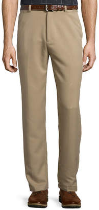 Haggar Cool 18 Classic-Fit Flat-Front Pants