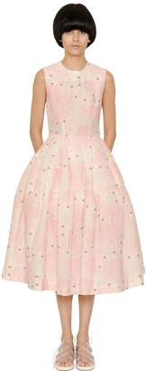 Simone Rocha Floral Brocade Dress