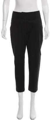 Peachoo+Krejberg Straight-Leg Mid-Rise Pants