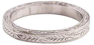 Ring 18K Etched Band