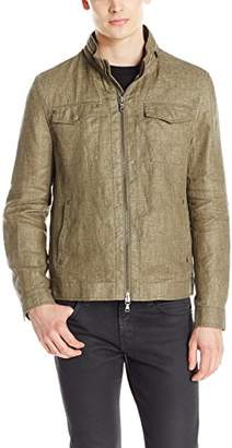 John Varvatos Men's Linen Field Jacket