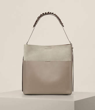 AllSaints Maya North South Tote $348 thestylecure.com