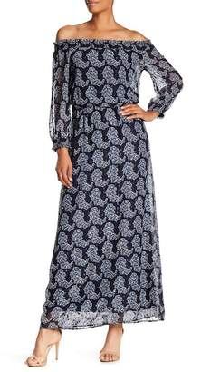 Taylor Printed Chiffon Maxi Dress