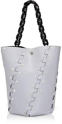 Proenza Schouler Studded Hinges Medium Hex Bucket Bag