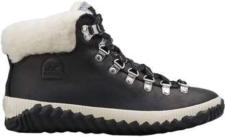 Sorel Out 'N About Conquest Short Lace-Up Boots with Faux Shearling