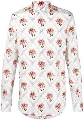 Dolce & Gabbana Hawaiian floral print shirt