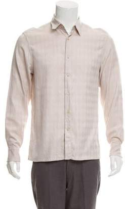 Givenchy Woven Button-Up Shirt