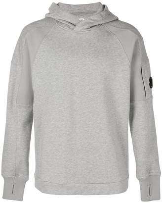 C.P. Company fitted hooded sweatshirt
