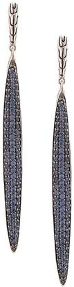 John Hardy Classic Chain sapphire drop earrings