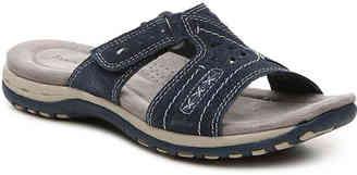 Women's Sizzle Flat Sandal -Black $70 thestylecure.com
