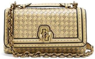 Bottega Veneta Olimpia intrecciato-knot leather cross-body bag