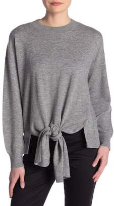 Frame Twist Front Wool Blend Sweater