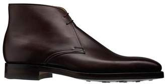 Crockett Jones Crockett & Jones Crockett and Jones Tetbury Calf Boot in Dark Brown