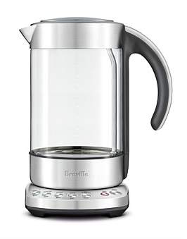Breville Bke840Clr The Smart Kettle Clear With Variable Temp Control