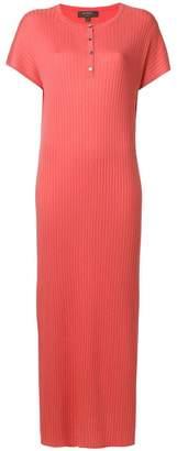 N.Peal ribbed maxi knit dress