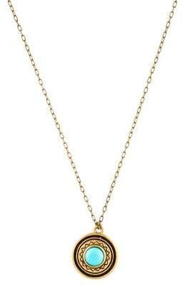 Pamela Love Turquoise Solar Pendant Necklace