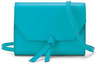 Alexandra de Curtis Mini Crossbody Clutch Aqua